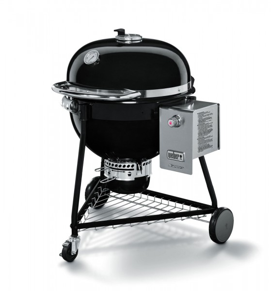 Weber Holzkohlegrill Summit Charcoal Black