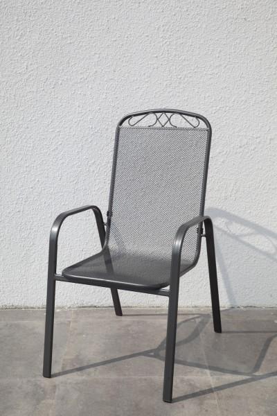 AKS Avignon Stapelstuhl 56x45x101,5 cm anthrazit