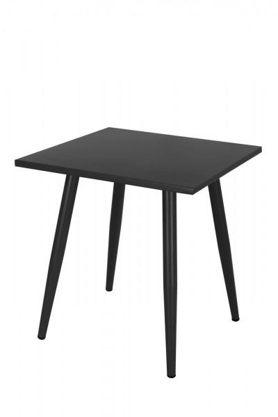 AKS Skagen Tisch, schwarz, 90 cm