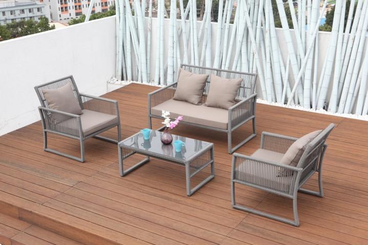 AKS Santander Lounge Set 4-teilig