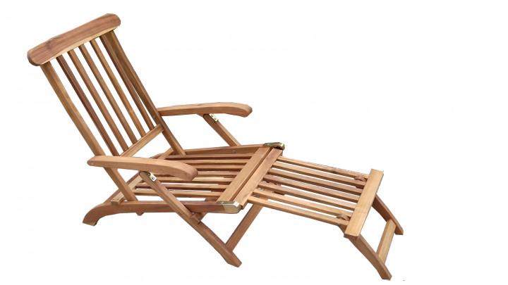 AKS Carcassonne Deckchair Akazienholz natur