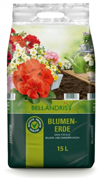BELLANDRIS Blumenerde 15 l