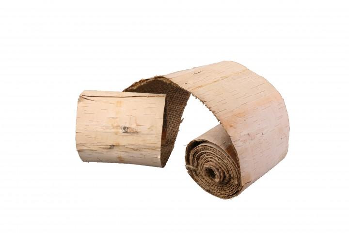 Birkenband einseitig 200x10 cm