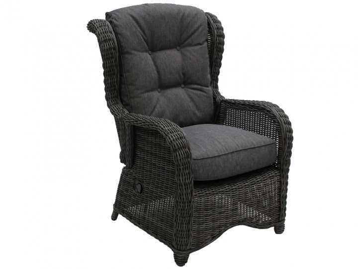 AKS Broadway Loungesessel Move Polyrattan/Kunstoffgeflecht light charcoal