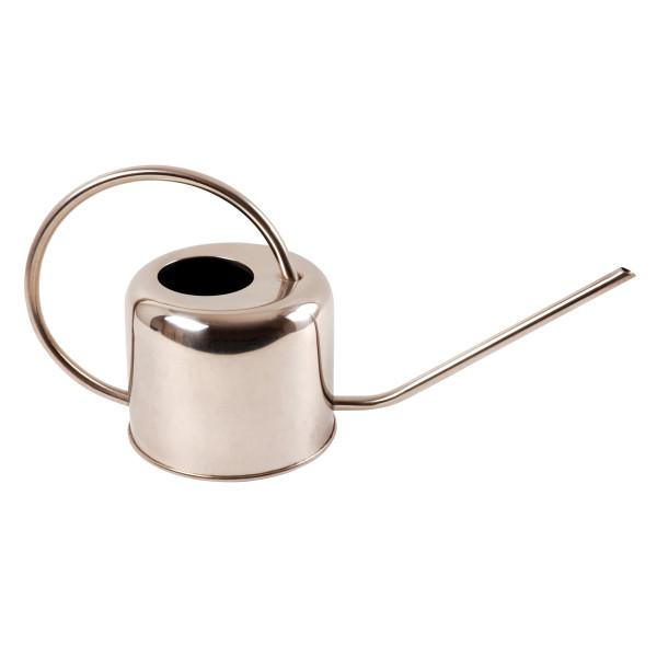 Giesskanne Metall 35x12x18 cmsilber, 1L