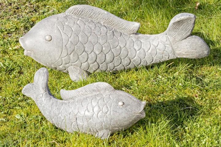 Figur Fisch Koiote Magnesia 45x15x19 cm