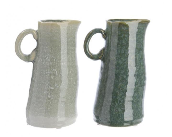 Krug Keramik mit Griff 10x12x19,5 cm