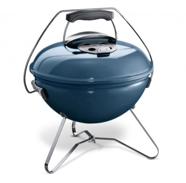 Weber Holzkohlegrill Smokey Joe Premium 37 cm Slate Blue
