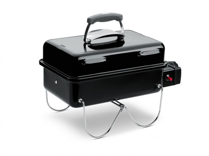 Weber Gasgrill Go-Anywhere 42x26 cm Black