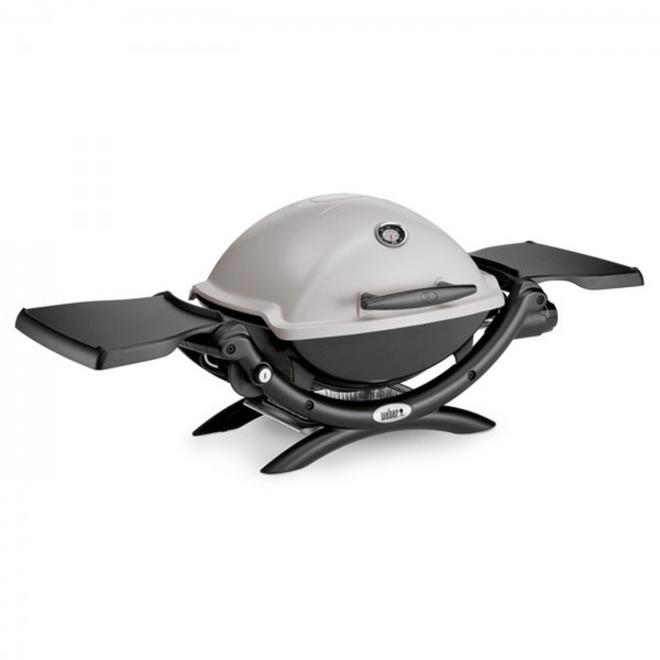 Weber Gasgrill Q 1200 Color Line 43x32 cm Granite Grey