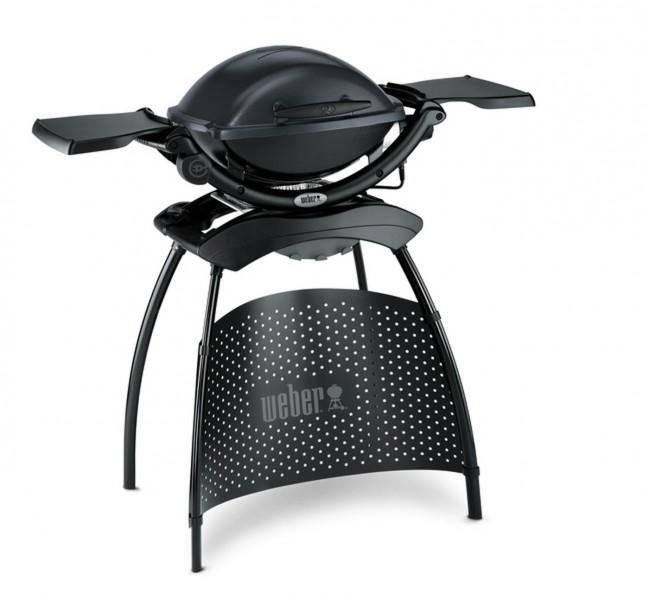 Weber Elektrogrill Q 1400 Stand 43x32 cm Dark Grey