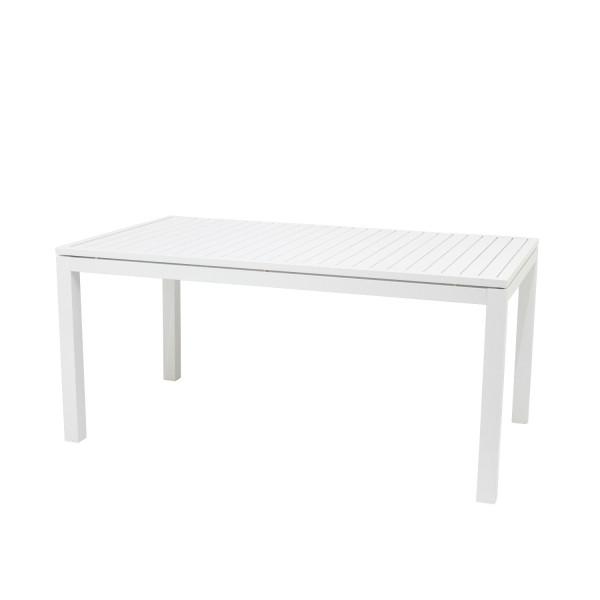 AKS Selina Diningtisch Aluminium weiß