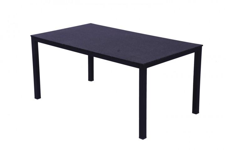 AKS Loft HIP Shell Tisch Stahl 170x90x72 cm grau/schwarz