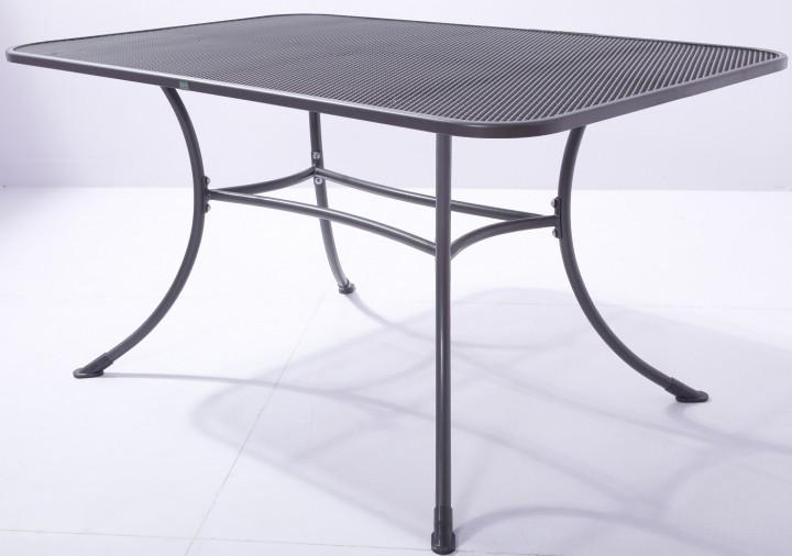 AKS Basic Tisch Standard eckig Stahl 160x90x72 cm grau