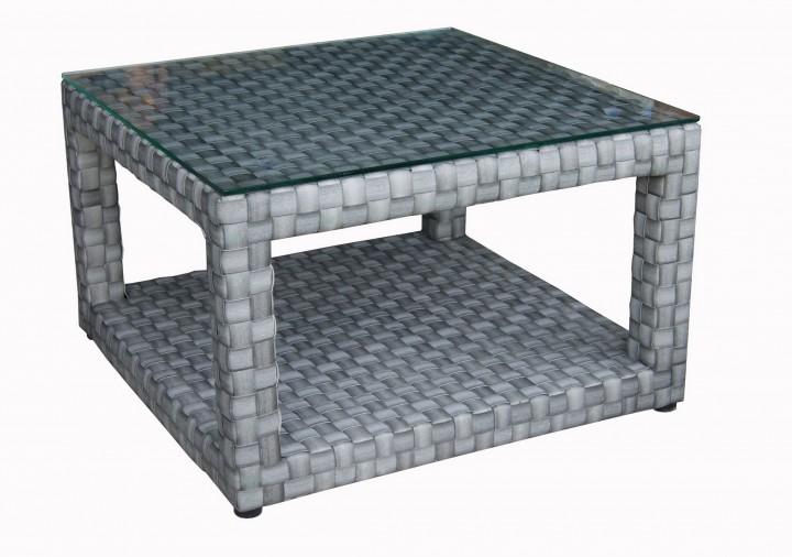 AKS Barcelona Tisch Geflecht, titan