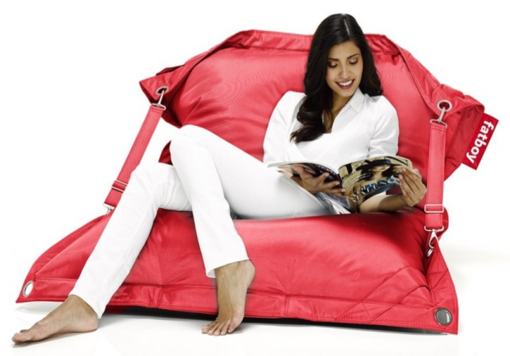 FATBOY Sitzsack buggle-up 190x140 cm red