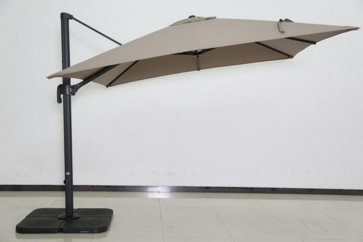 AKS Ampelschirmbezug Alu Olifen 300x300 cm taupe