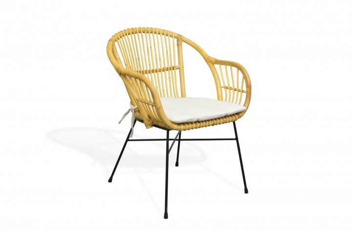 AKS Firenze Sessel Rattan, honey