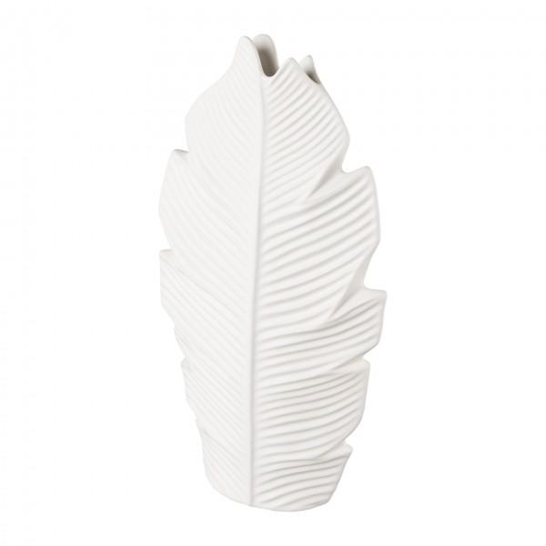 Porzellan Vase ASPLUND 28x9,5x51,5 cm weiß