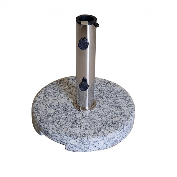 AKS Granitschirmständer 25 kg rund 45x36 cm grau