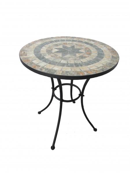 AKS Catania Tisch 70x70 cm Stern schwarz