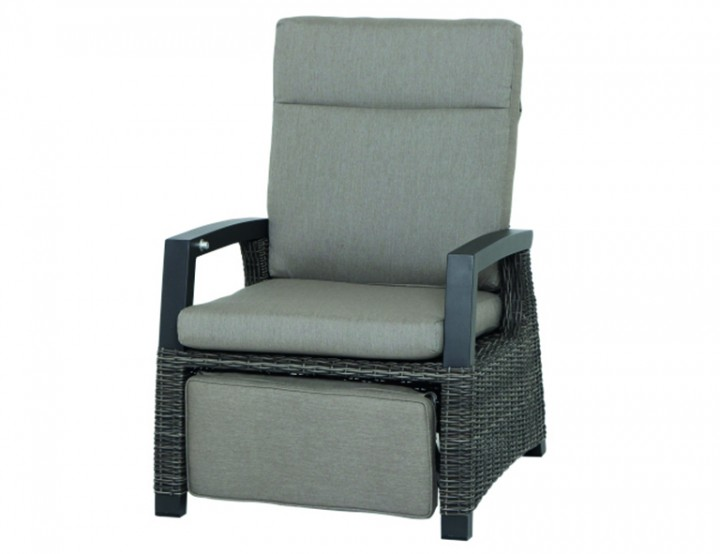 AKS Benedetto Relaxsessel, charcoal grey