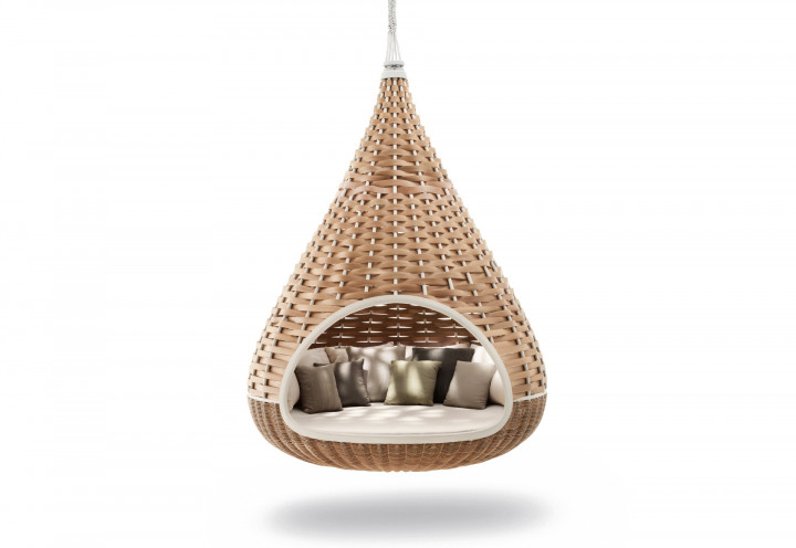 Dedon Nestrest Hanging Lounger Geflecht