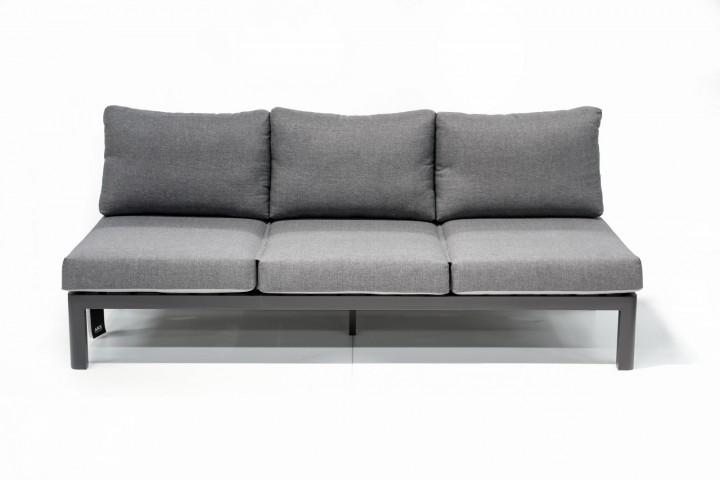 AKS Pearl Sofa schwarz, charcoal