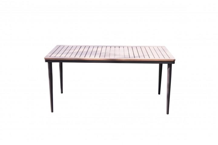 AKS Padua Tisch 140x69x66 cm schwarz, natur