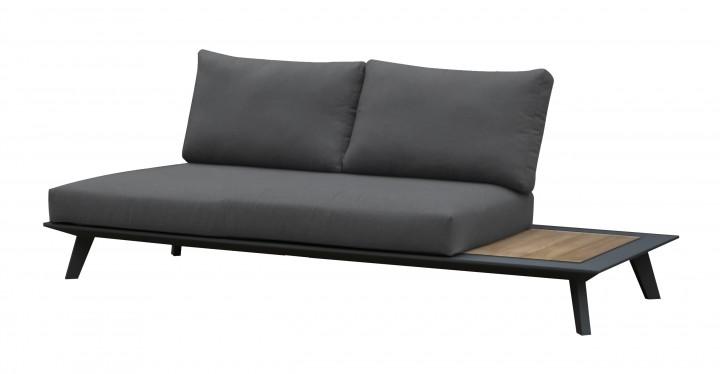 AKS Living 2er Sofa mit Teak