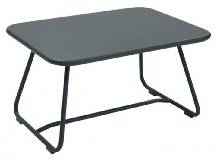 Fermob Sixties Tisch niedrig 75,5x55,5x41 cm gewittergrau