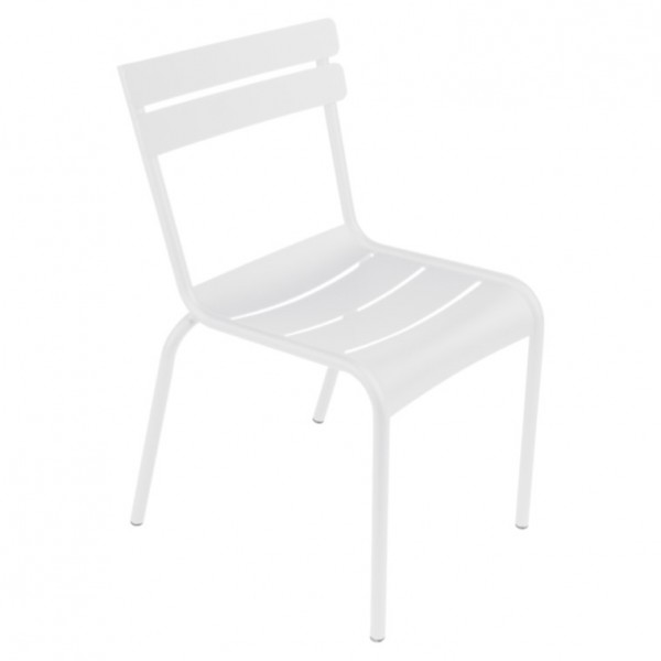 Fermob Luxembourg Stuhl 52x57x88 cm baumwollweiß