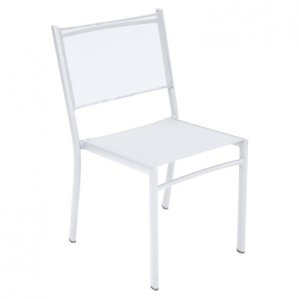 Fermob Costa Stuhl 53,8x51x87,5 cm baumwollweiß