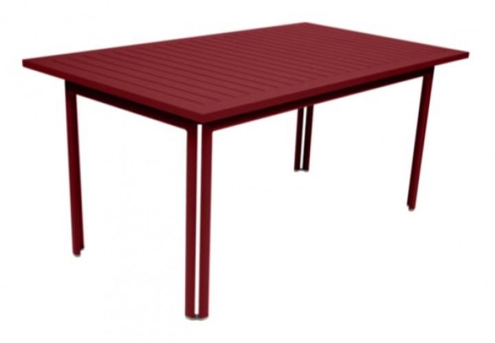 Fermob Costa Tisch 160x80x74 cm chili