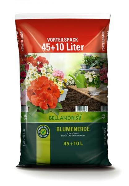 Bellandris Blumenerde 55 l Vorteilspack