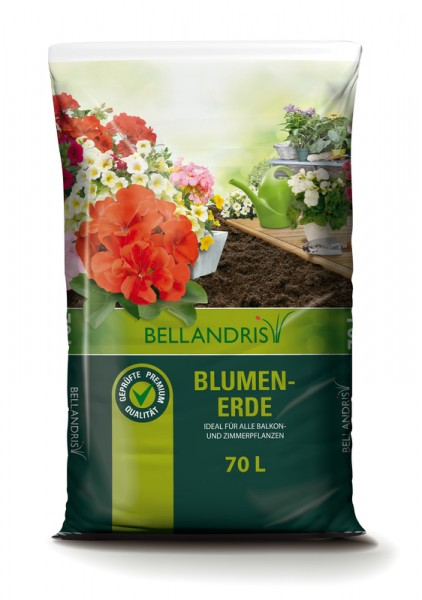 BELLANDRIS Blumenerde 70 l