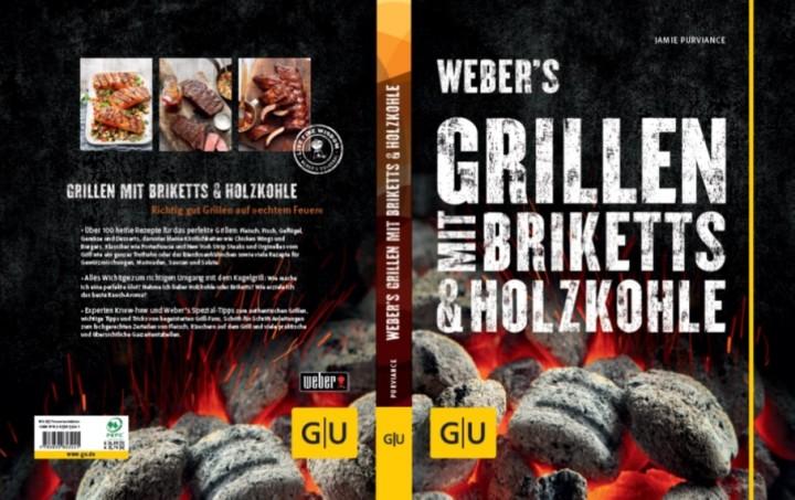 Weber Buch Grillen mit Briketts & Holzkohle
