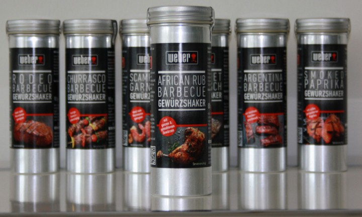 Weber Gewürz Edora Scampi und Garnelen in Gastrodose 800 g