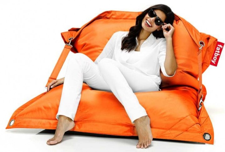 FATBOY Sitzsack buggle-up 190x140 cm orange